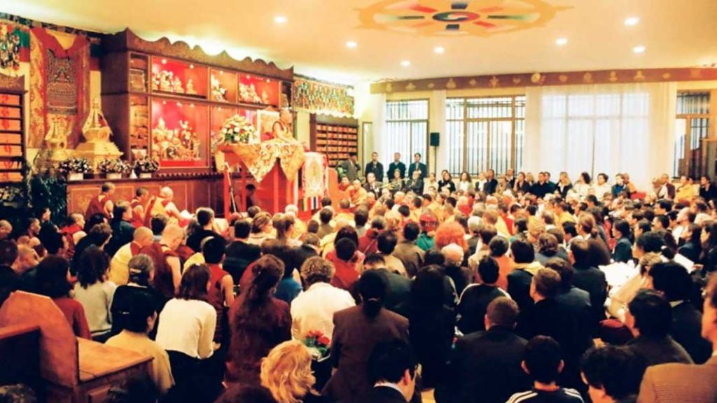 His Holiness the 14th Dalai Lama - Ghe Pel Ling Milano 1999