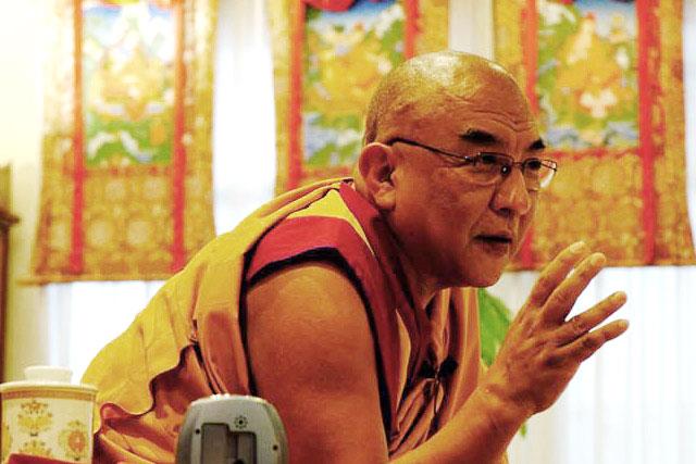 Thamthog Rinpoche